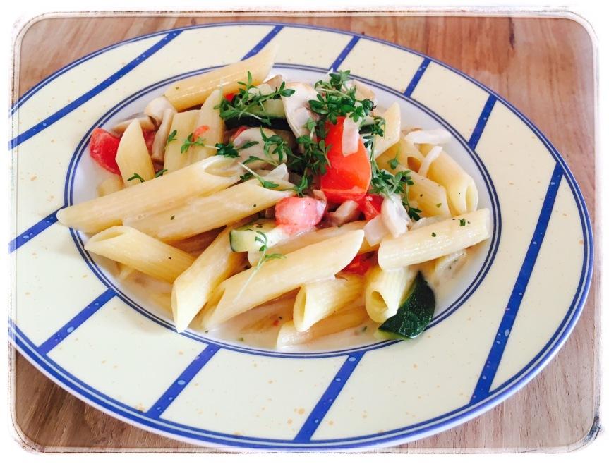 One Pot Pasta mitGemüse
