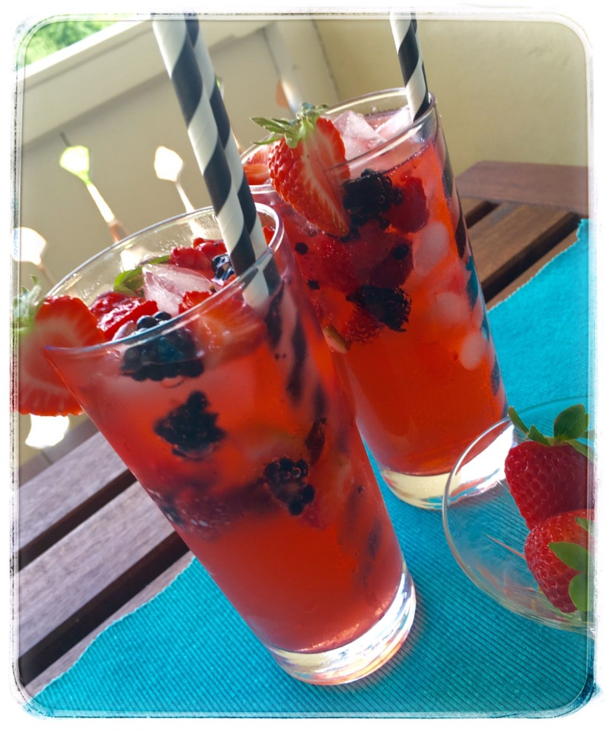 Veryberry Mojito Mocktail