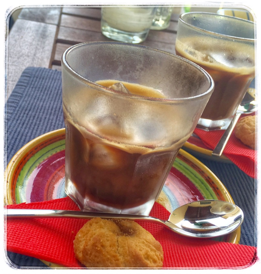 "Brrr… Iced Espresso ""orange afternoon"""