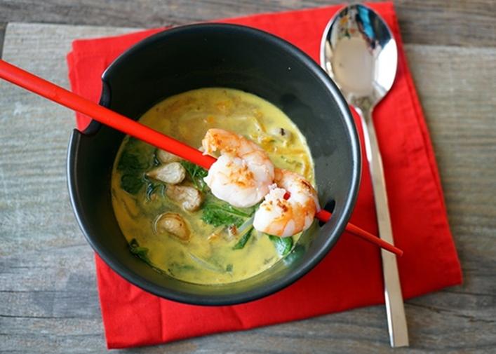 Feurige Thai CurrySuppe