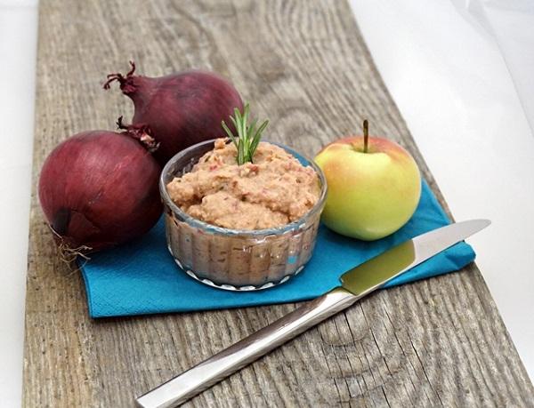 Apfel Zwiebel Aufstrich