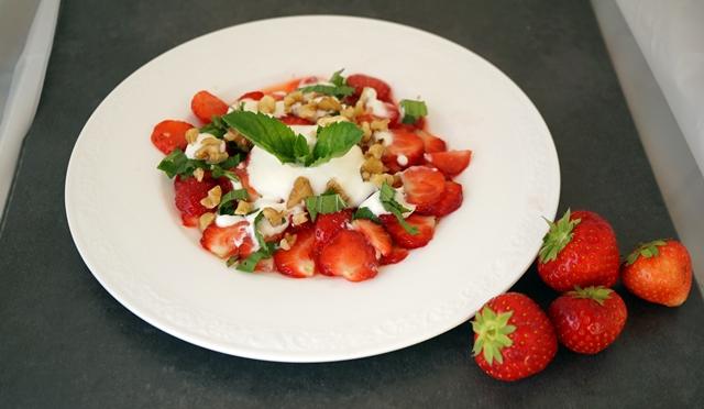 Erdbeer Carpaccio