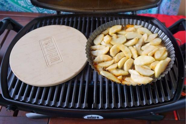 Tarte Tartin vom Grill (1)