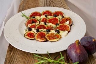Feigencarpaccio mit Mozzarella (1)