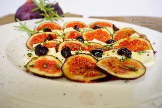 Feigencarpaccio mit Mozzarella (2)